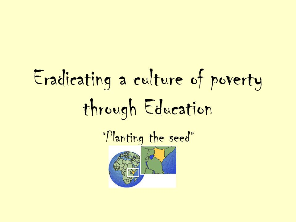 Definitions For our purpose, poverty means deprivation of basic human needs i.e.