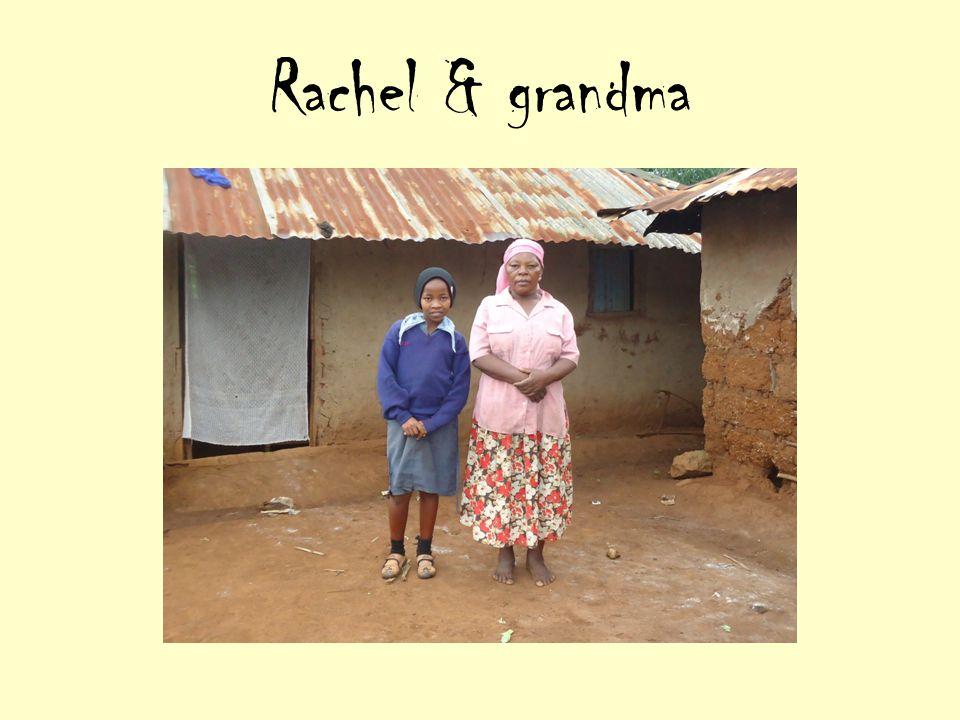 Rachel & grandma
