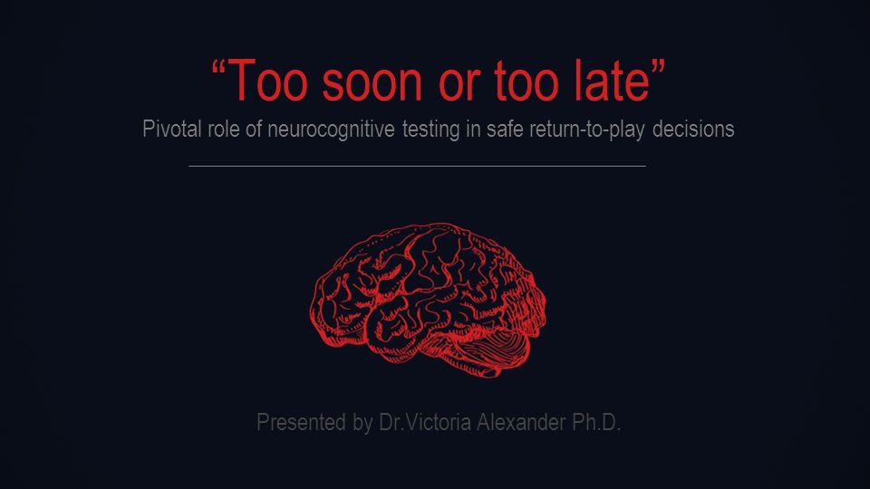 Presented by Dr.Victoria Alexander Ph.D. 03 ImPACT Composite Percentile Scores CASE STUDY 03