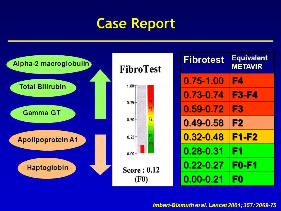 Castera et al, J Hepatol 2008; 48: 835-47 Case Report 10 validated measures IQR < 30% median Success rate > 60% 11.2 0.914.6