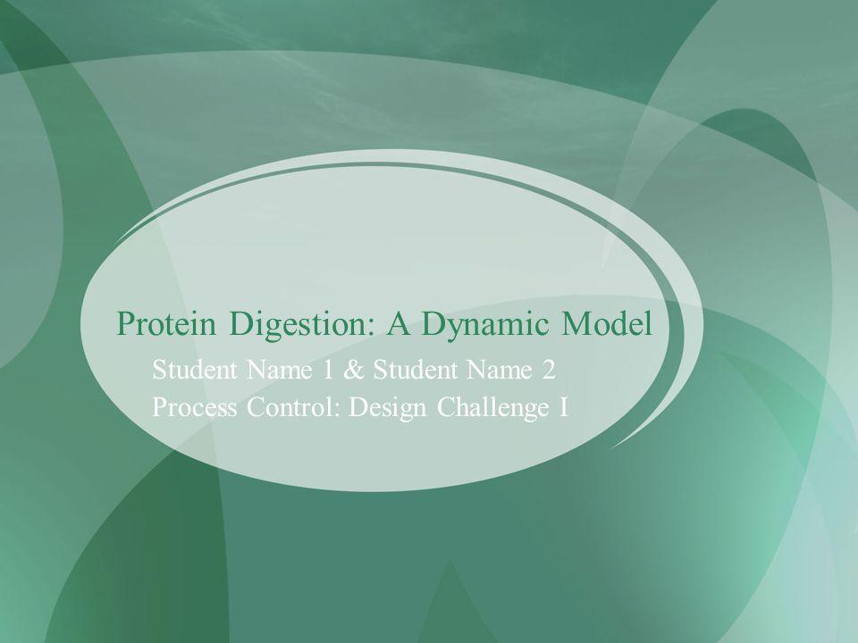 Our System F 3, X a, X b, X c F 1, X ai F 2, X bi The Stomach V Assumptions: Well mixed Constant: V, X bi, density, flow rates Reaction: ODEs