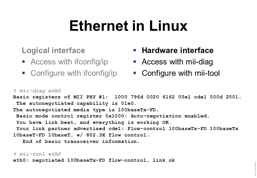 ©2003–2004 David Byers Remote access with ssh Secure shell  Encrypted channel  Mutual authentication Features  X11 forwarding  File transfer … and lots more Interactive shell: ssh remote_username@hostname To copy files from host: scp remote_username@hostname:path local_path To copy files to host: scp remote_username@hostname:path local_path
