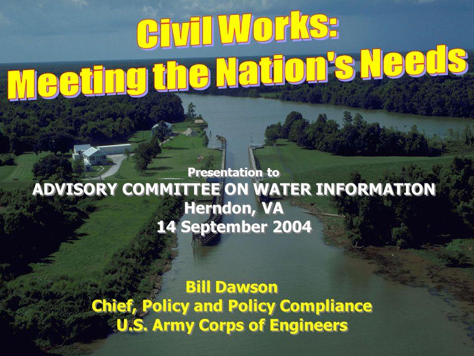 Bill Dawson Chief, Policy and Policy Compliance U.S.