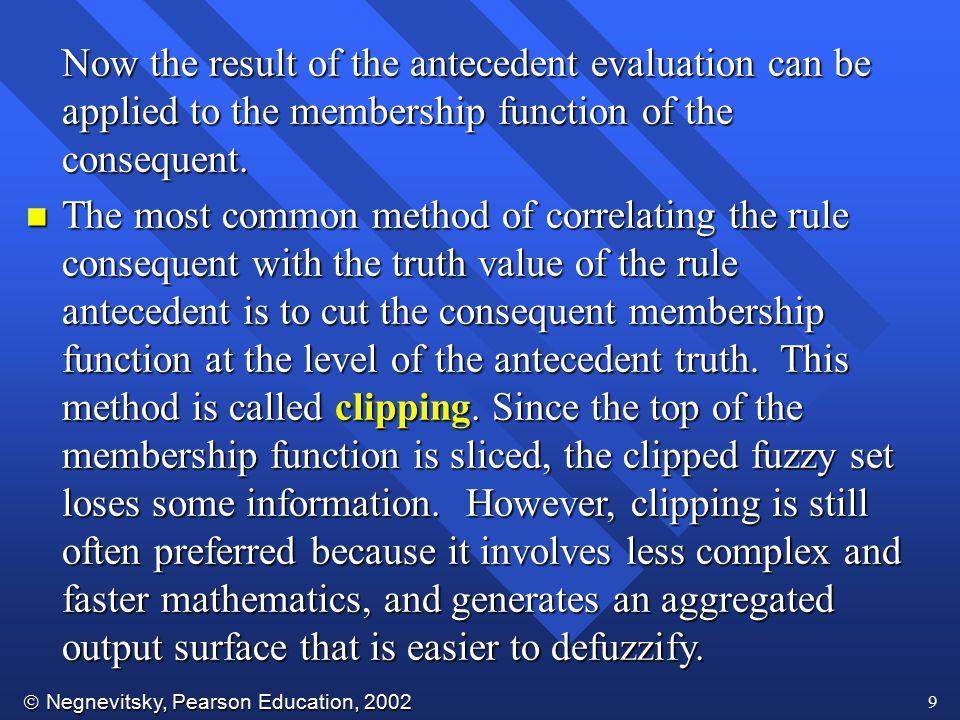  Negnevitsky, Pearson Education, 2002 30 Fuzzy sets of Mean Delay m
