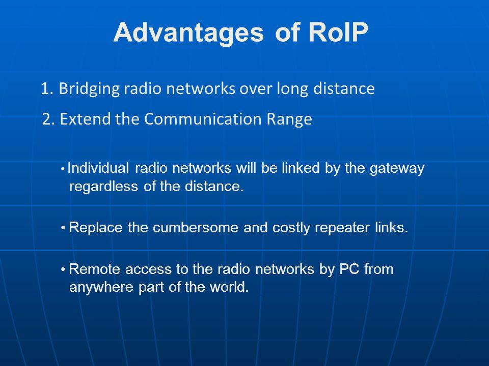 Diagram of Radio IP Gateway Network AdministratorOperator Radio Network 1 Radio Network 2 Radio Network n To PSTNRemote User x Wan/Lan
