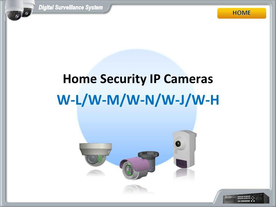 Home Security IP Cameras W-L/W-M/W-N/W-J/W-H