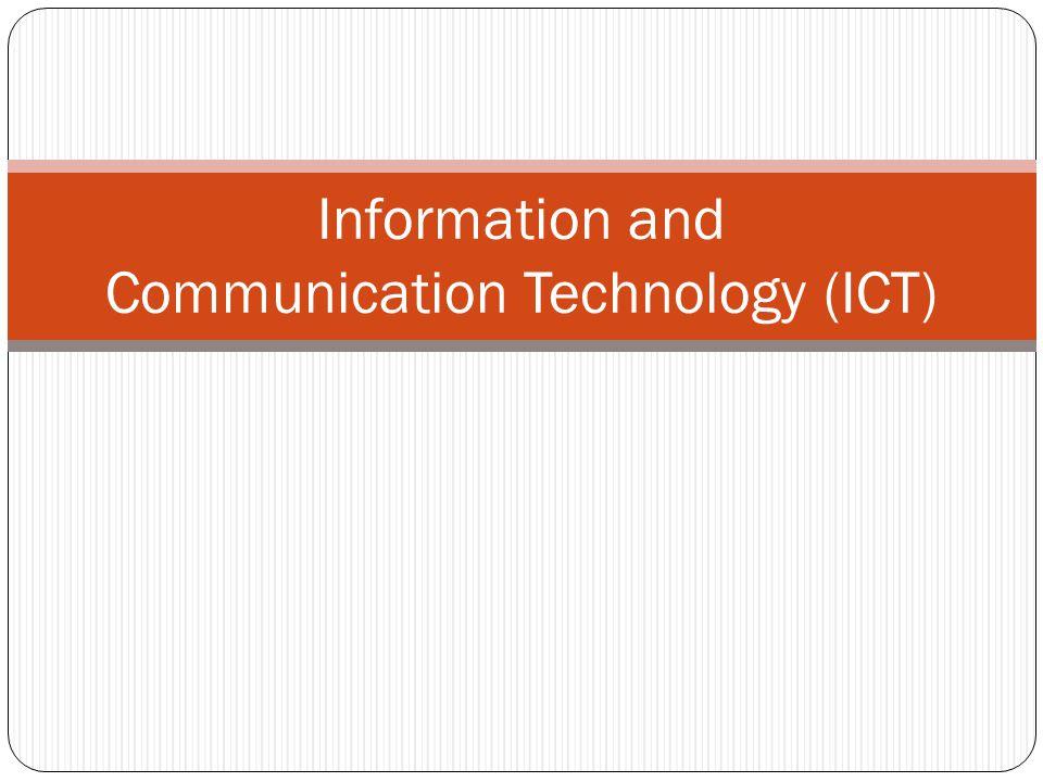 Curriculum Structure ICT includes three parts: 1.Compulsory Part (55%) 2.