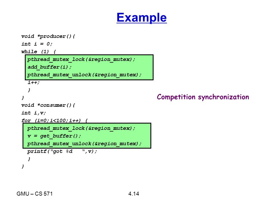4.15GMU – CS 571 Example output