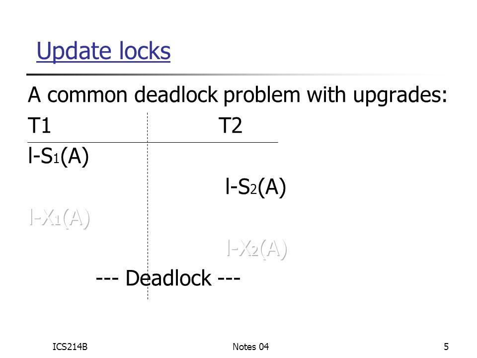 ICS214BNotes 045 Update locks