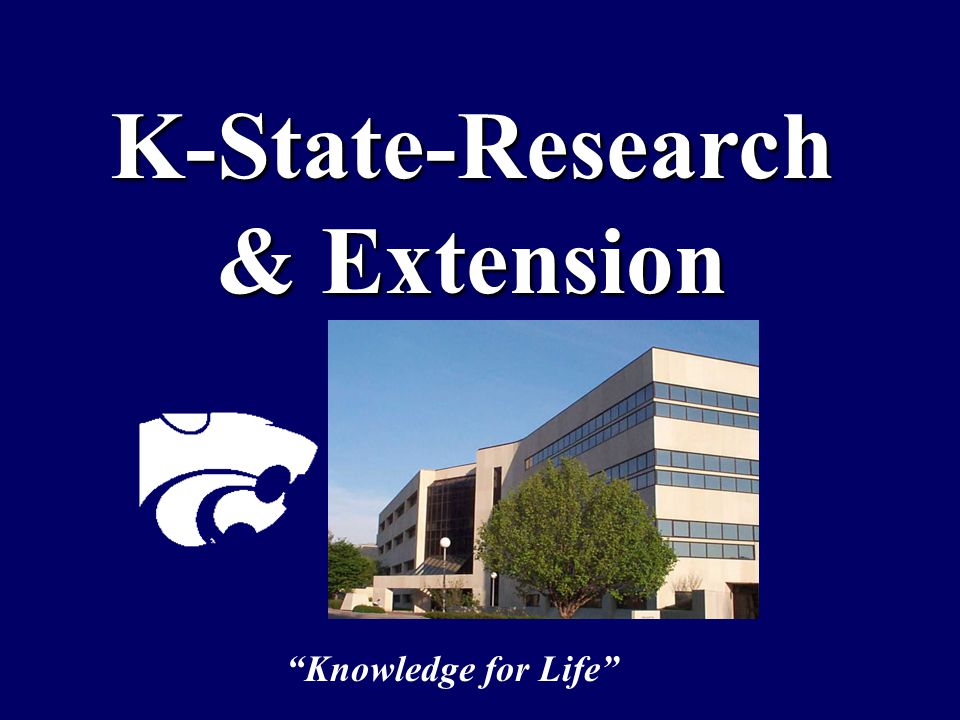 K-State-Research & Extension Knowledge for Life