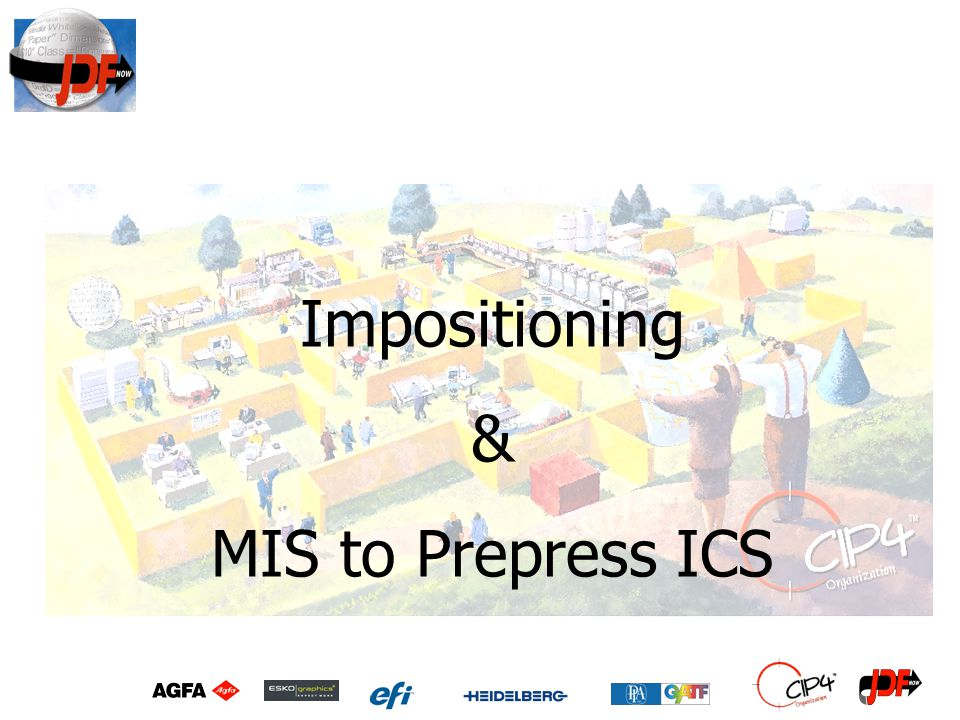 Impositioning & MIS to Prepress ICS