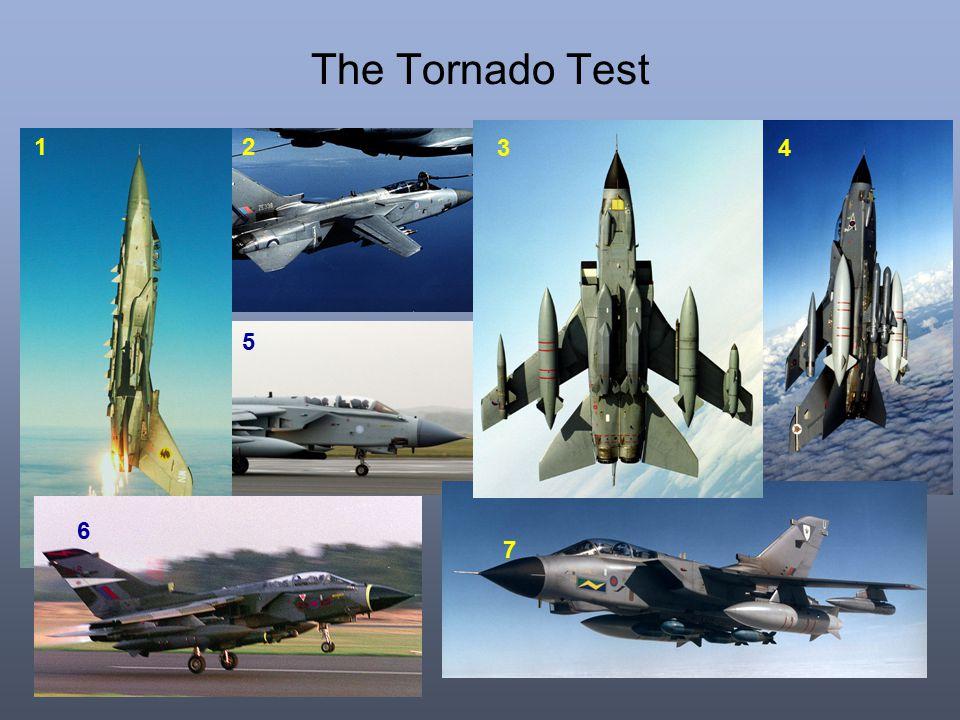 The Tornado Test 1 7 4 5 3 2 6