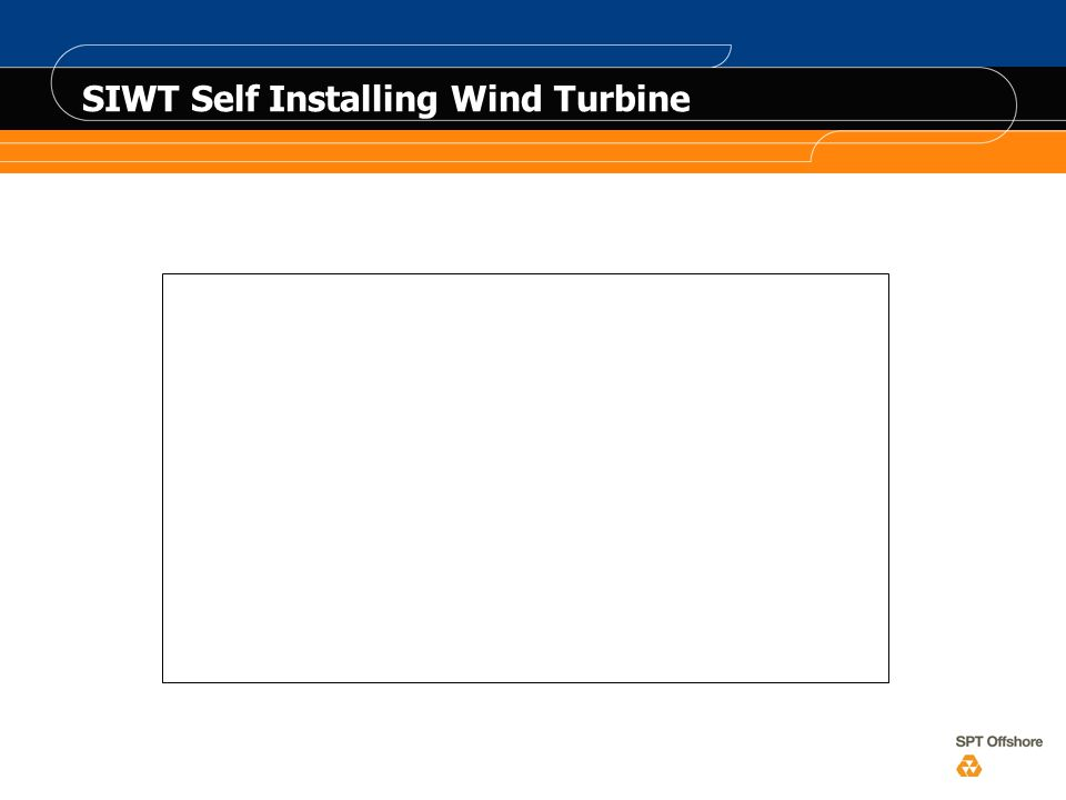 SIWT Self Installing Wind Turbine