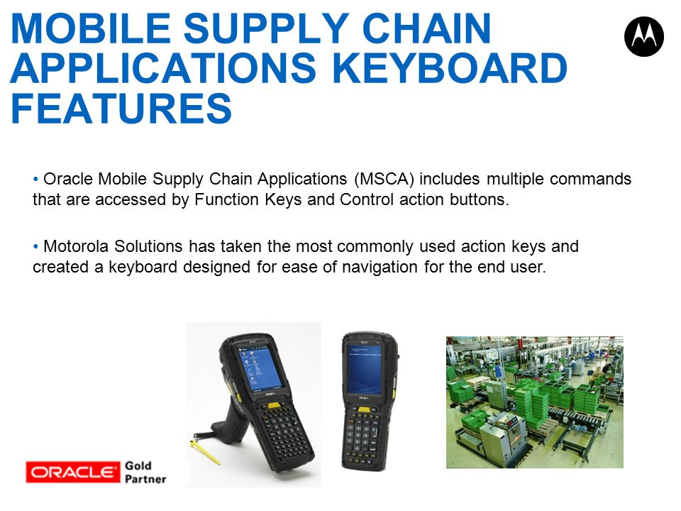 Oracle Mobile Supply Chain Applications (MSCA) includes multiple commands that are accessed by Function Keys and Control action buttons.