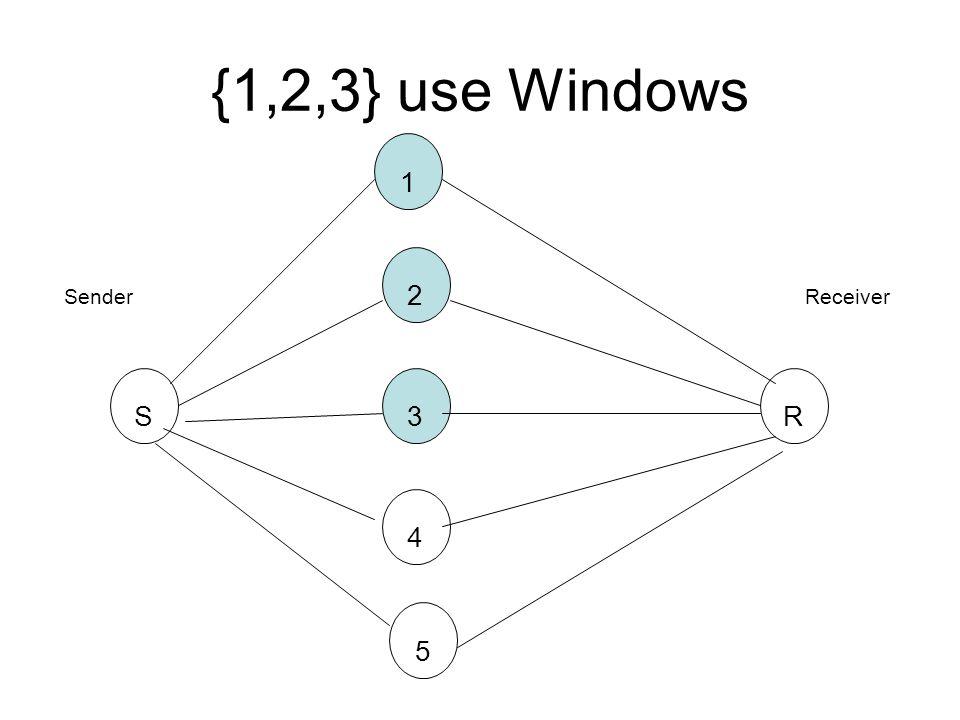 {1,2,3} use Windows SR3 2 1 4 5 SenderReceiver
