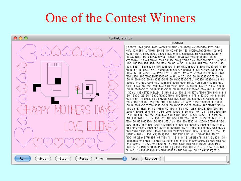One of the Contest Winners [c255:211:242 [f400 l f400 x400{ l f1 l f900 r f1 r f900}] u r180 f340 r f320 r88 d x4{c142:0:254 r u f40 d l130 f88 r40 f40 x6{r30 f16} r180l30 x7{r30f16} r1 f24 r42 f92 u l130 f70 x3{c255:0:0 u f20 d l130 f44 r40 f20 x6{r30 f8} r180l30 x7{r30f8} r1 f12 r42 f46 u l133.4 f c142:0:254 u f20 d l130 f44 r40 f20 x6{r30 f8} r180l30 x7{r30f8} r1 f12 r42 f46 u l133.4 f} f130r180}] [c255:0:0 u r180 f280 l f120 l d u f30 d l f60 r180 f30 r f25 l f25 r180 f55 r180 f60 l u f35 d l r14 f61 r152 f30 r104 f13 r180 f13 r76 f31 l75 u f5 l94 d f40 r30 f8 r30 f8 r30 f6 r30 f8 r30 f8 r30 f8 r30 f7 r30 f8 r30 f18 u l f21 l88 u f30 l d f40 r30 f8 r30 f8 r30 f6 r30 f8 r30 f8 r30 f8 r30 f7 r30 f8 r30 f18 u l f21 l88 u f30 l d u r f12 d l f25 r l120 f28 r120u f28 r120 d f28 l30 f25 l u f20 f30 l d f60 r160 f50 r220f50 l200f60 l u f5l d u f20 d f30 r30 f8 r30 f8 r30 f6 r30 f8 r30 f8 r30 f6 f30 r30 f8 r30 f8 r30 f6 r30 f8 r30 f8 r30 f5 u r180 f20 l92 f30 d u f18 d l89 f60 l f10 r180 f20 u r f60 l89 f5 u u f30 d l f60 r180 f30 r f25 l f25 r180 f55 r180 f60 l u f35 d l f60 r f25 r180 f25 l f30 l f20 r180 f20 l87 f30 l93 f25 u f5 d l f50 r30 f8 r30 f8 r30 f6 r30 f8 r30 f8 r30 f8 r30 f7 r30 f8 r30 f18 l130 f40 l50 u f4 d r l u l92 f50 r f30 r d r135 x5{f12 l45} x5{f12 r45} f12 ur180 f12 l44 f27 u f30 l d f60 r f10 r31 f13 r30 f13 r30 f23 r30 f13 r30 f13 r30 f10 u r180 f30 d l r14 f61 r152 f30 r104 f13 r180 f13 r76 f31 l75 u f5 l94 d u r f12 d l f25 r l120 f28 r120u f28 r120 d f28 l30 f25 l u f20 r f100 r f300 r182 d l f60 r180 f60 l f20 u f5 d l u f20 d f30 r30 f8 r30 f8 r30 f6 r30 f8 r30 f8 r30 f6 f30 r30 f8 r30 f8 r30 f6 r30 f8 r30 f8 r30 f5 u r180 f20 l92 f30 d u l f60 d r167 f62 l154 f62 r168 u f60 l180 r f5 d l f60 r f25 r180 f25 l f30 l f20 r180 f20 l87 f30 l93 f25 u f5 d l r u 66 r90 d f10 r30 f5 r30 f5 u l149 f10 l f17 u r u f30 l f30 l d r180 r f30 l l f60 r f25 r180 f25 l f30 l f20 r180 f20 l87 f30 l93 f25 u f5 d l x2{f60 r180 f60 l f20 u f5 d l} r l f60 r f2