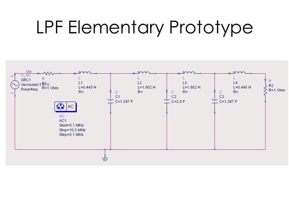 LPF Elementary Prototype