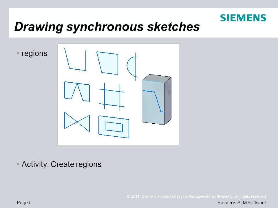 Page 5 © 2011. Siemens Product Lifecycle Management Software Inc.