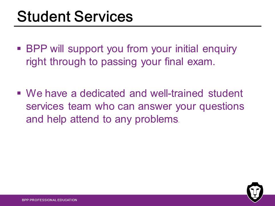 BPP PROFESSIONAL EDUCATION Questions kfarrugia@bpp.com pabela@bpp.com mtabone@bpp.com