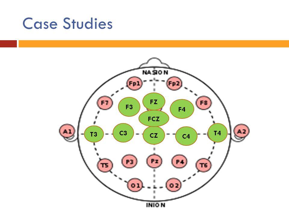 Case Studies C3 C4 T3 T4 CZ F3 F4 FZ FCZ
