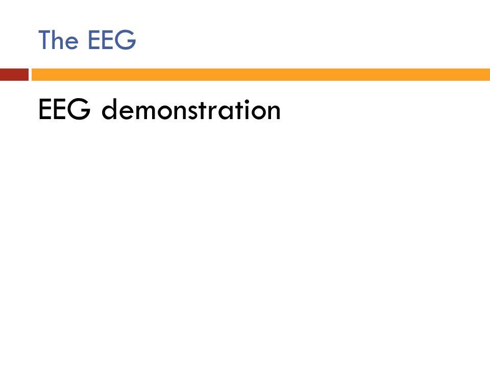 The EEG EEG demonstration