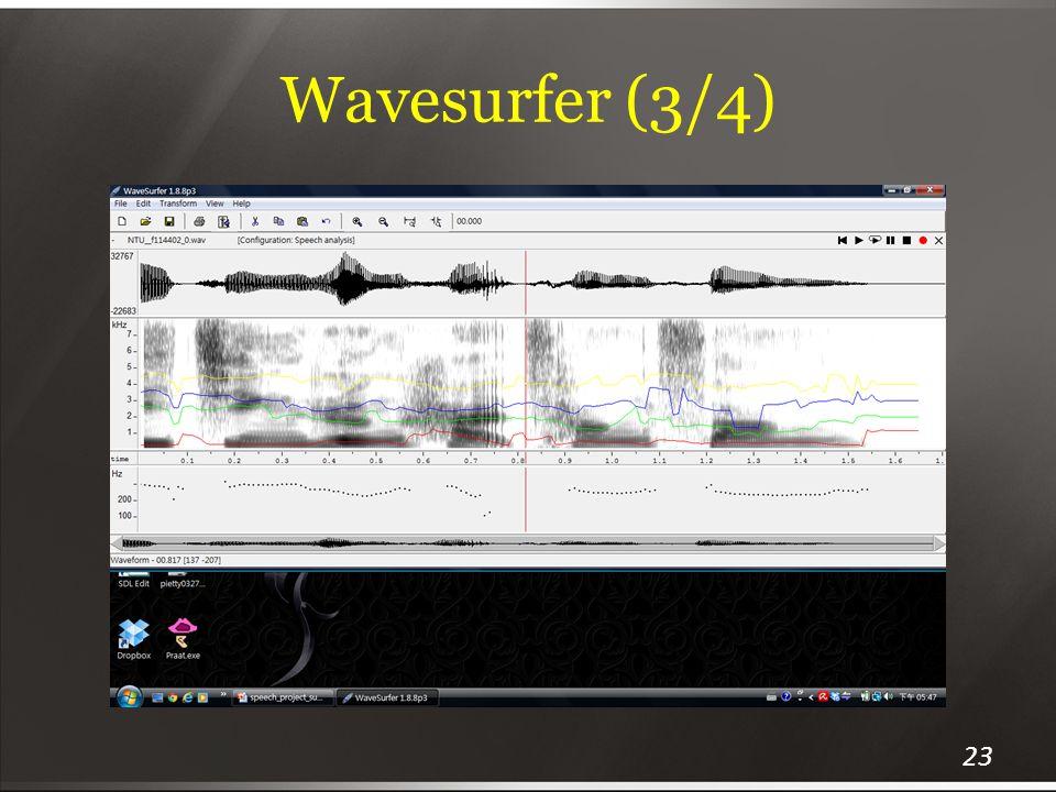 Wavesurfer (3/4) 23