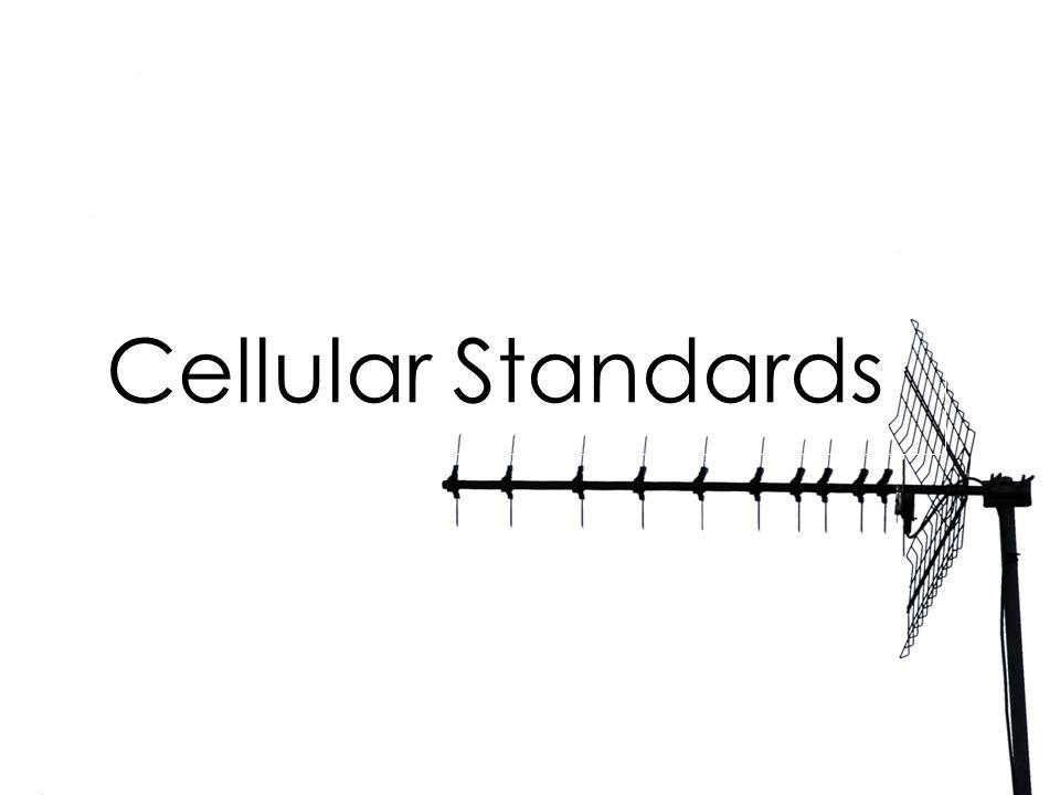Cellular Standards