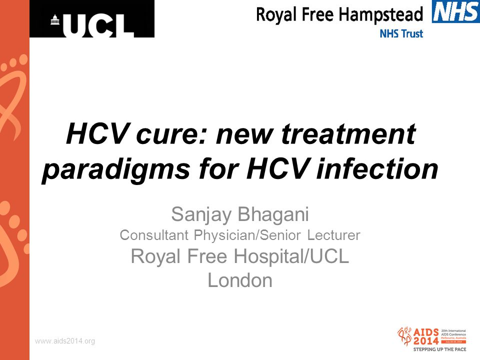 www.aids2014.org HCV/HIV co-infection – 'shades of grey'