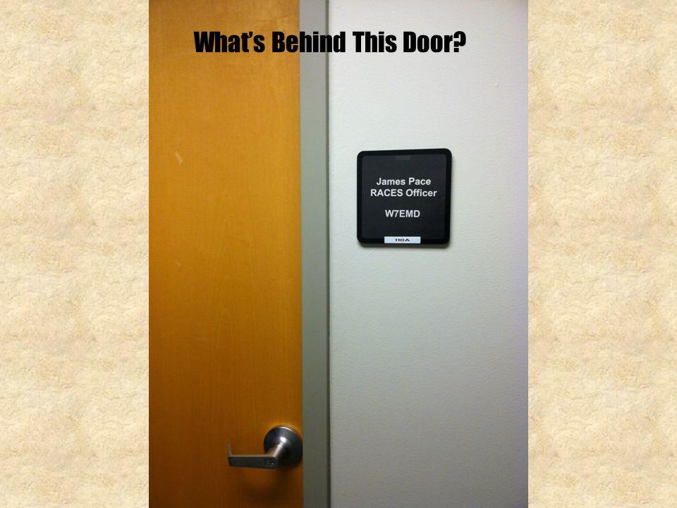 What's Behind This Door