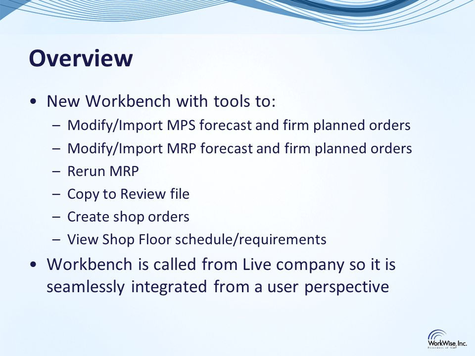 Summary of Program Changes Modify Customer Order Maintenance direct fulfillment to check Order Credit Process table Modify Shipping Maintenance with new Credit Process screen and new check point (including Packing slip) Modify Invoice Maintenance with new Credit Process screen and new check point Create conversion process for COP Order Credit Process Table