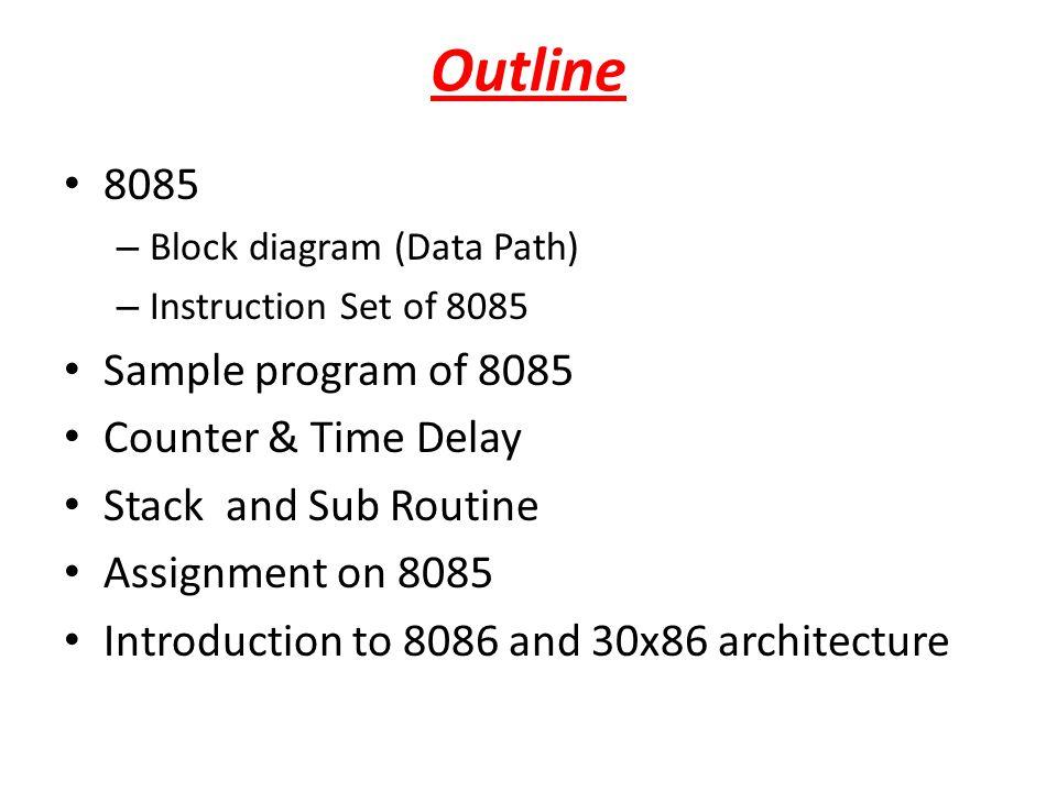 Introduction to 8086 & i386 processor 16 bit Microprocessor All internal registers as well as internal and external data buses were 16 bits wide 4 Main Register, 4 Index Register, 4 Segment Register, Status Reg, Instr Ptr.