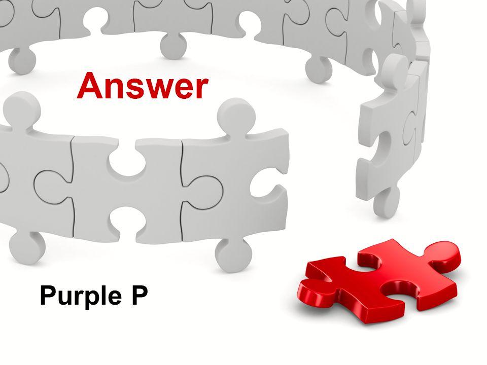 Actions Menu Knowledge Check Purple P