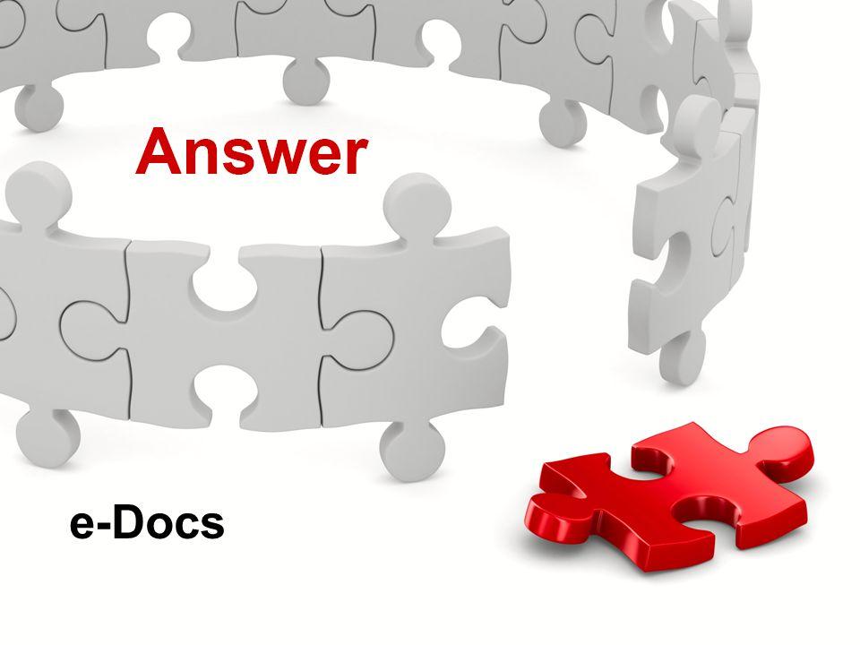 Actions Menu Knowledge Check e-Docs