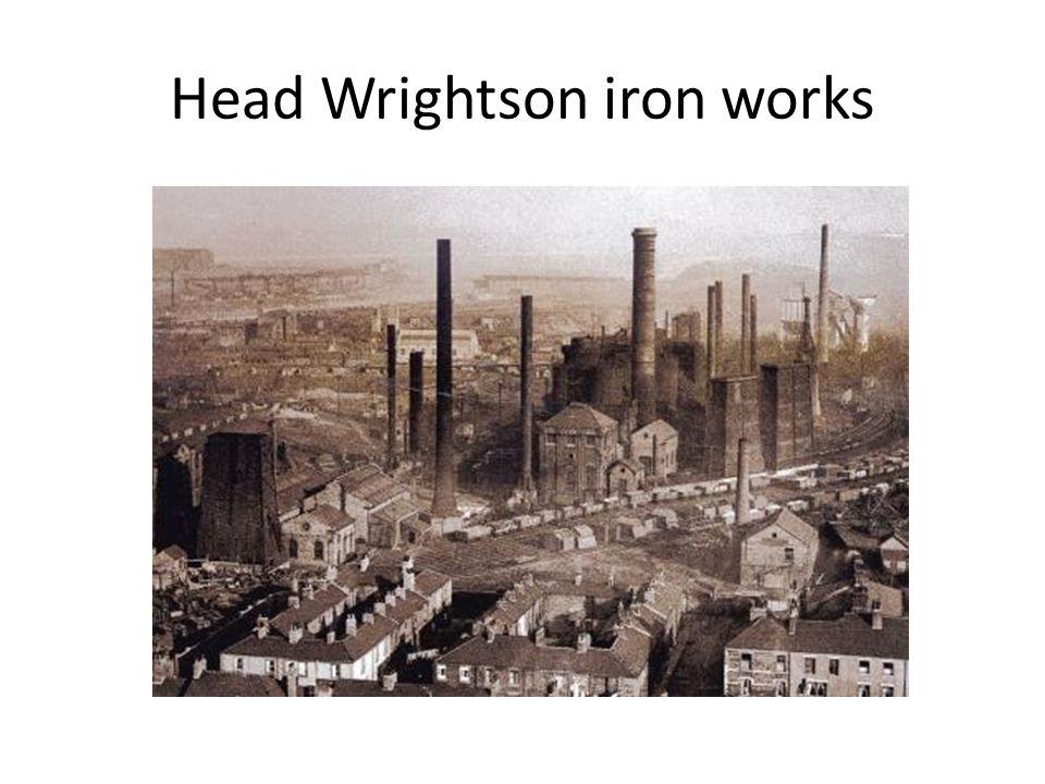 Head Wrightson iron works