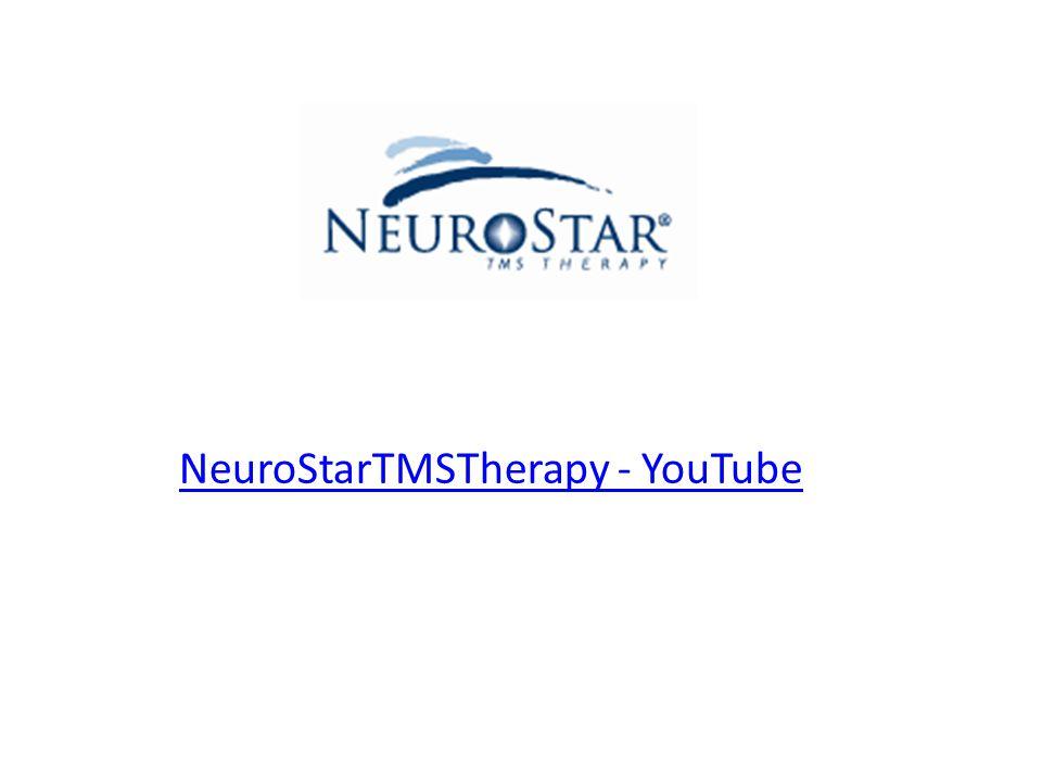 NeuroStarTMSTherapy - YouTube