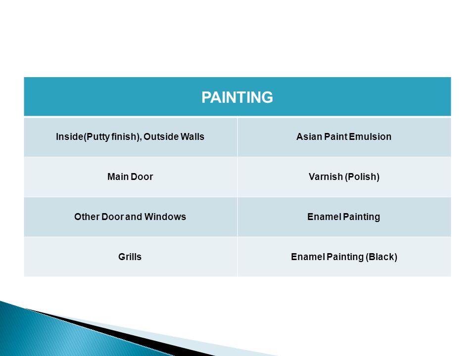 BATHROOM TilesAnti-Skid tiles flooring Wall tiles 7 feet height glazed tiles Plumbing Jaquar/Parryware or equivalent