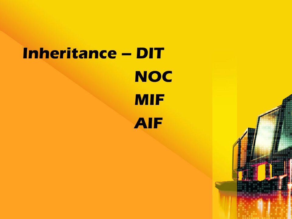 Inheritance – DIT NOC MIF AIF