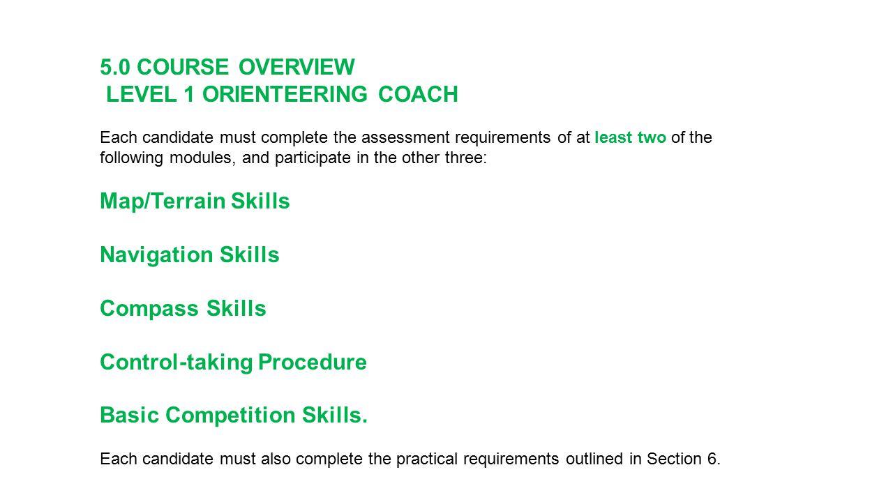 Level 3 Coaching WHO WOC Coach Bushrangers Coach WUOC Coach JWOC Coach National Squad Coaches What T4-Breakthrough and Reward E1- Senior National Success E2- Podium Success