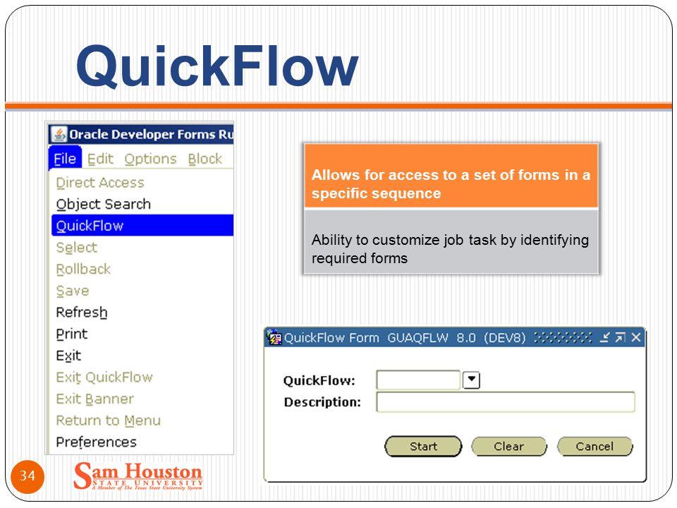 QuickFlow 34