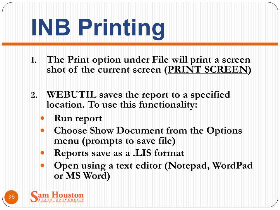 INB Printing 1.