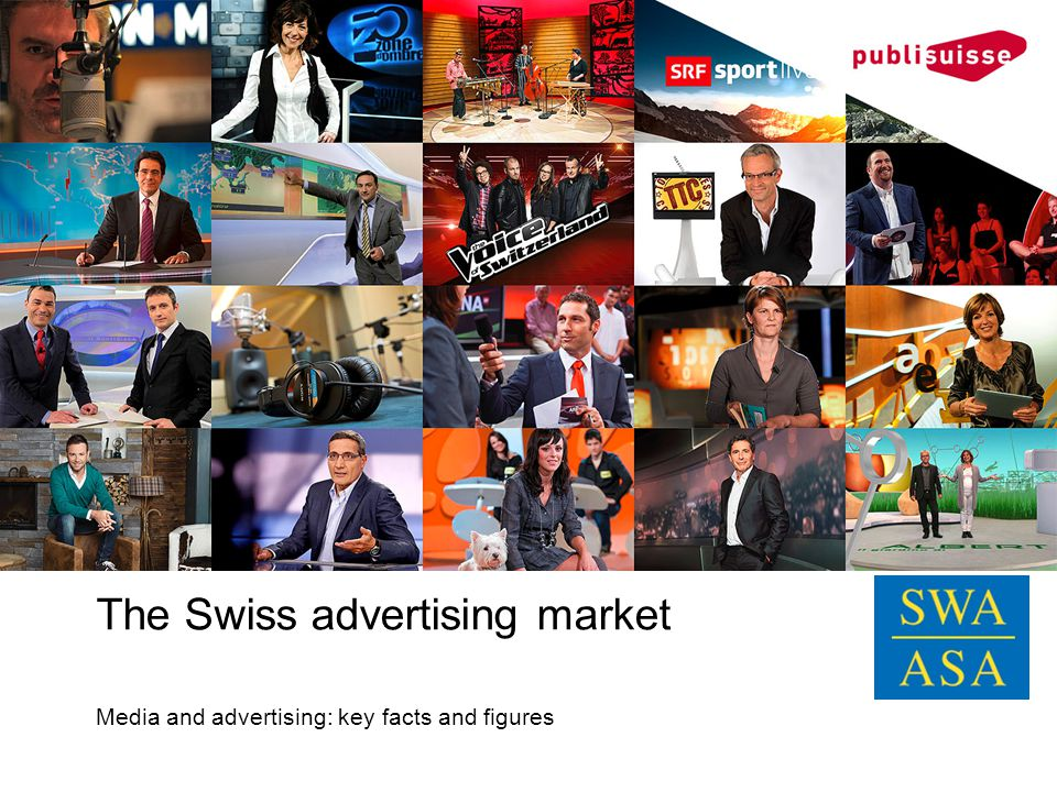 The Swiss advertising market Media and advertising: key facts and figures