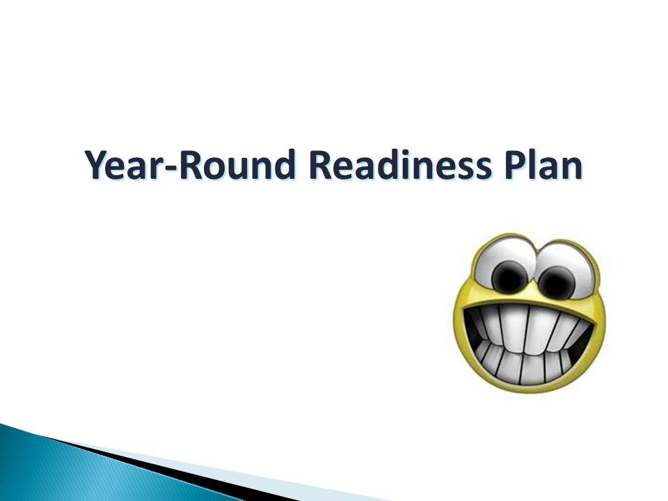 Year-Round Readiness Plan