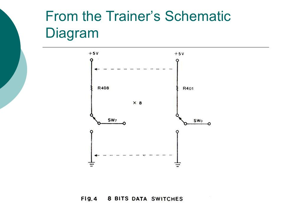 From the Trainer's Schematic Diagram