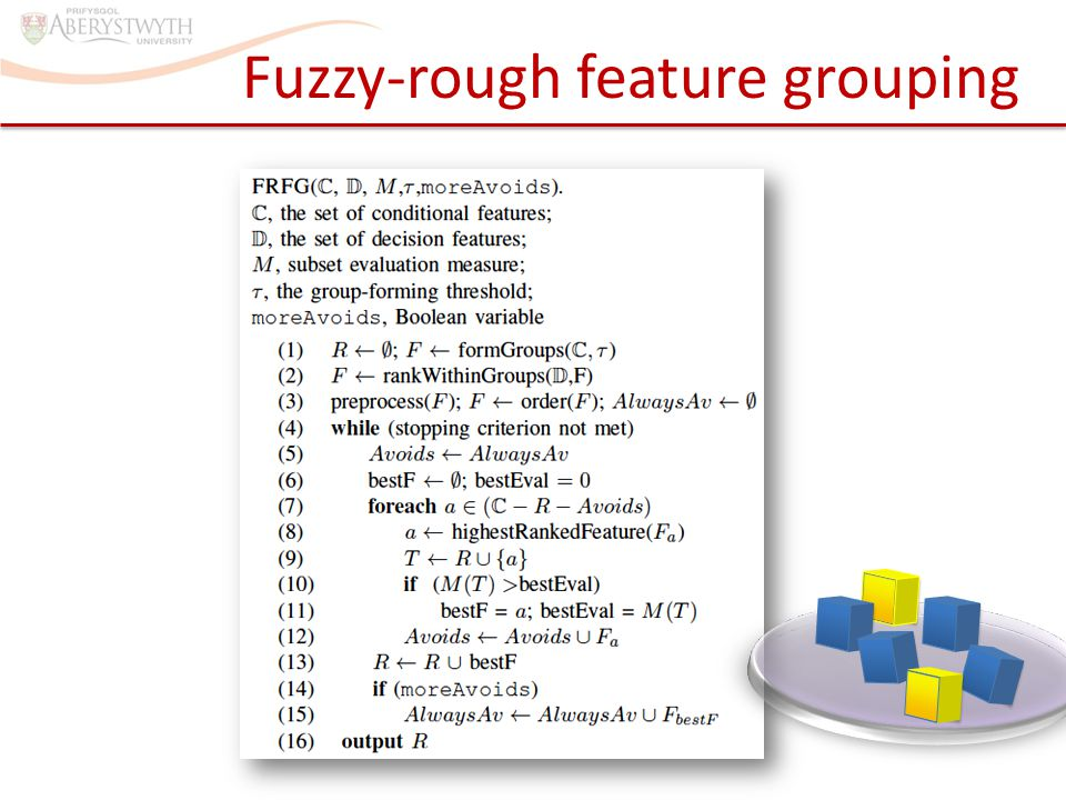 Fuzzy-rough feature grouping