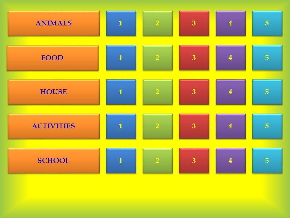 ANIMALS FOOD HOUSE ACTIVITIES SCHOOL 1 1 2 2 3 3 4 4 5 5 1 1 1 1 1 1 1 1 2 2 2 2 2 2 2 2 3 3 3 3 3 3 4 4 4 4 4 4 4 4 5 5 5 5 5 5 5 5 3 3