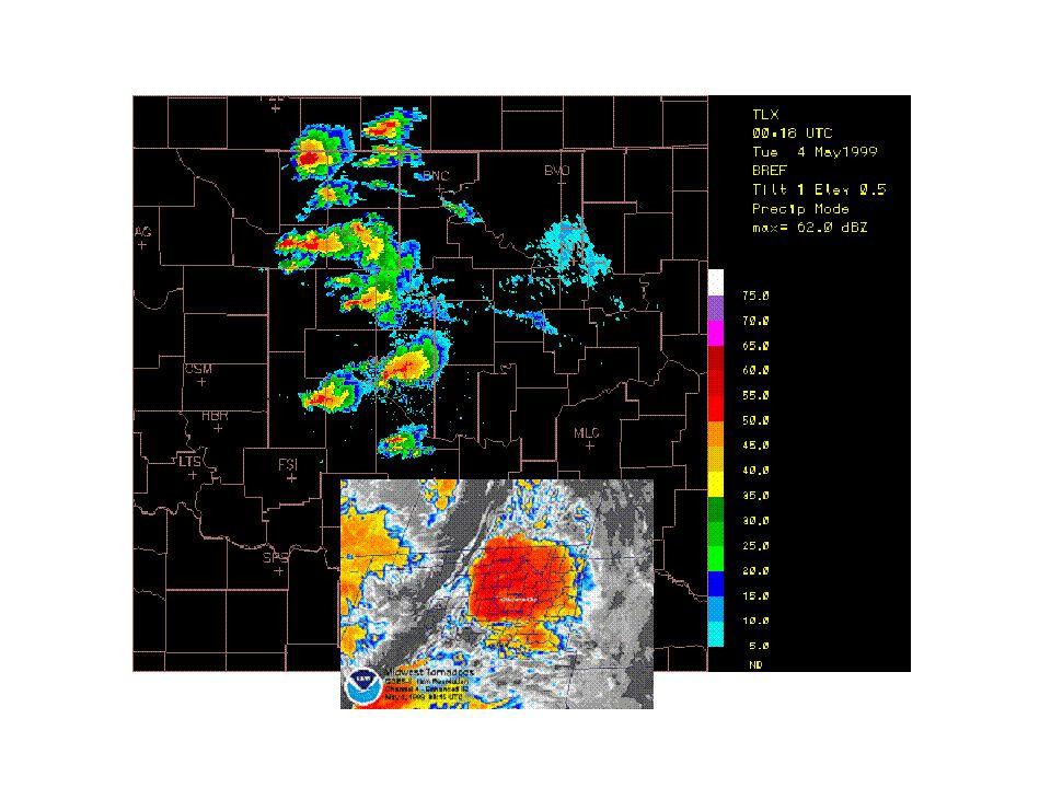 Satellite image taken May 3, 1999 @ 645 CDT