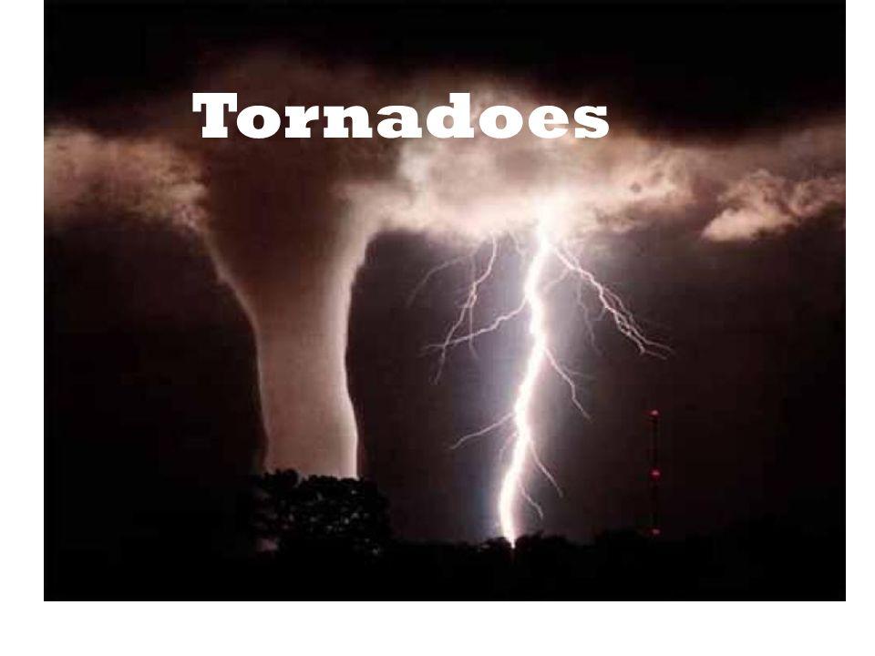 Tornado Categories The Fujita-Pearson Tornado Intensity Scale or F-scale ranks tornadoes by their wind speed.
