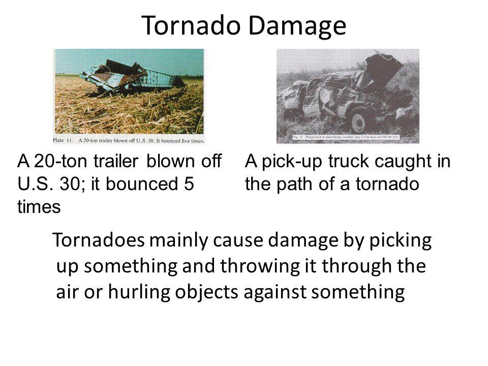 Signs of a Tornado.