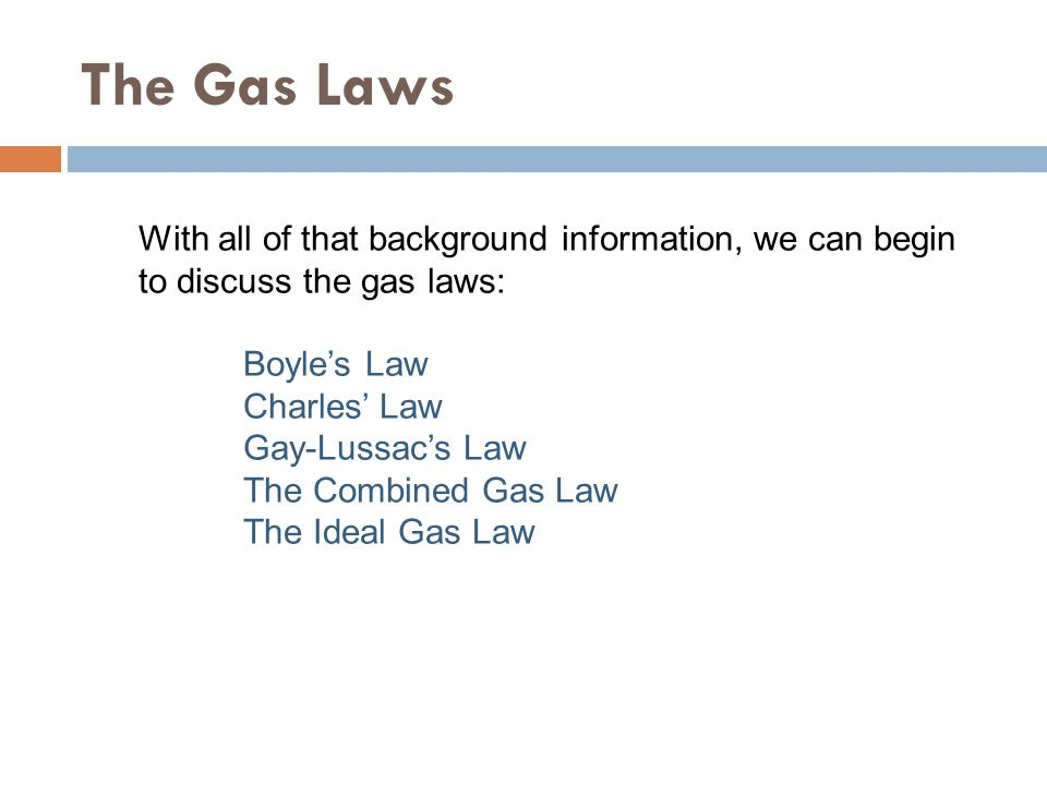 Boyle's Law Describes the Pressure-Volume Relationship.