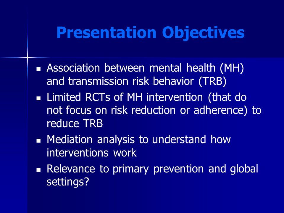 Mental Health Associated with ARV Adherence (Mugavero et al., 2006)